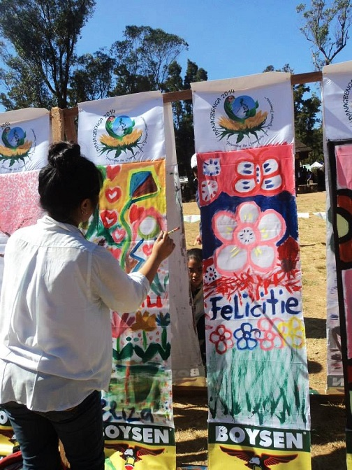 Taken Feb 2014 Melvin Jones Grandstand Painting activity Photo taken by Felicitie Joy Armendez